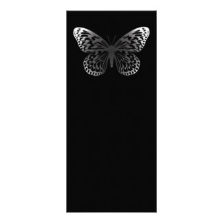 Grey Butterfly Rack Card