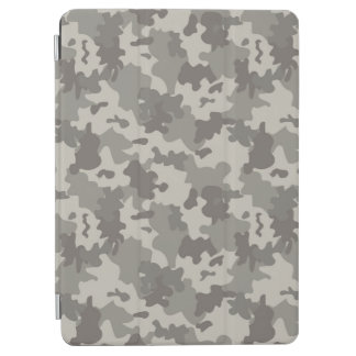 Grey Camouflage iPad Air Cover