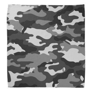 Grey camouflage Pattern Bandana