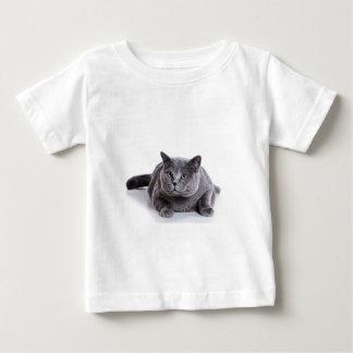 Grey Cat Baby T-Shirt