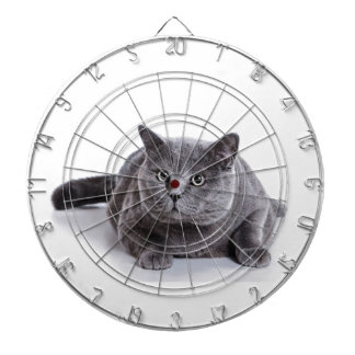 Grey Cat Dartboard
