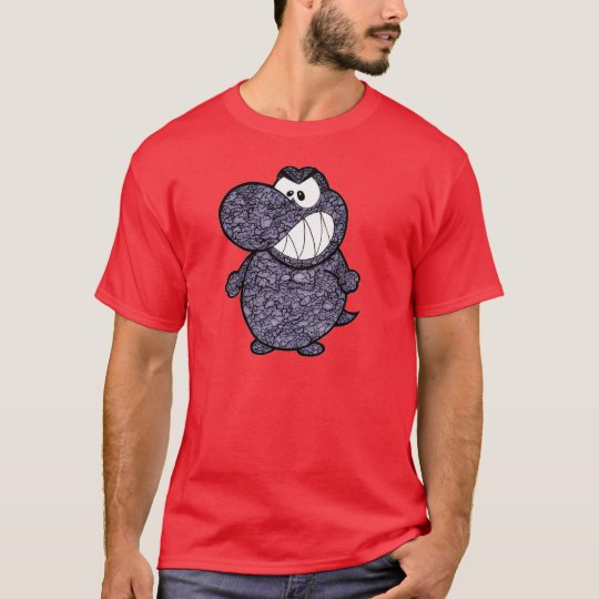 GREY CEMENT T-REX T-Shirt