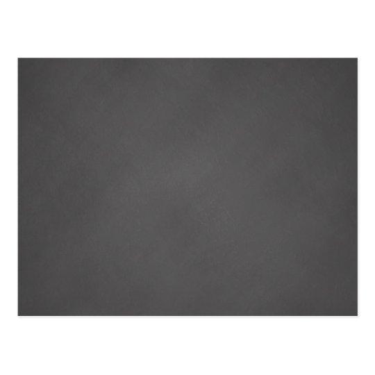Grey Chalkboard Background Black Chalk Board Postcard