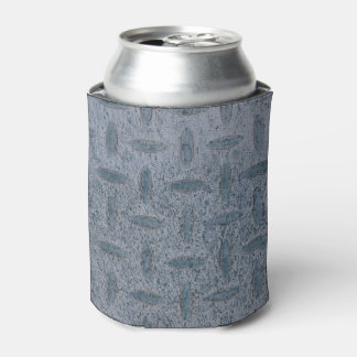 Grey checker plate can cooler