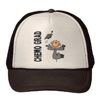 Grey CHEMO GRAD 1 (Brain Cancer) Trucker Hat