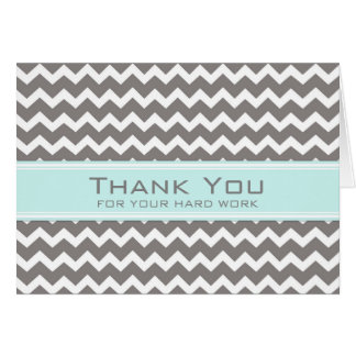 Grey Chevron Administrative Professionals Day Card