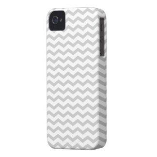 Grey Chevron Case-Mate iPhone 4 Case