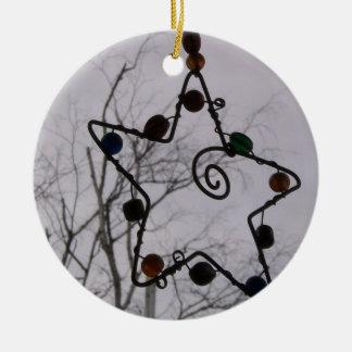 Grey Christmas Christmas Ornament