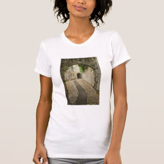 Grey Cobblestone street, France T-Shirt
