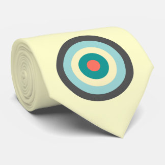 Grey Combination Bullseye by Shirley Taylor Tie