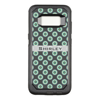 Grey Combination Circles by Shirley Taylor OtterBox Commuter Samsung Galaxy S8 Case
