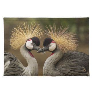 Grey Crowned Crane Placemats