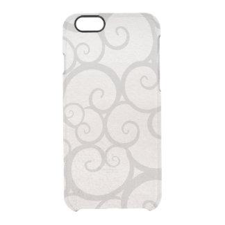 Grey curls lines iPhone 6 plus case
