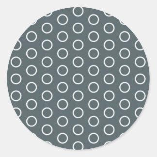 grey dab score grey darkly circle retro spot stickers