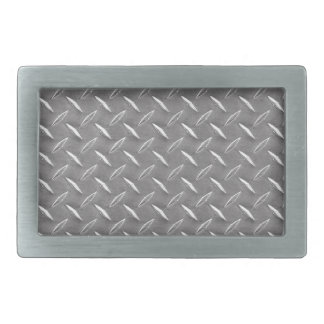 Grey Diamond Plate Belt Buckles