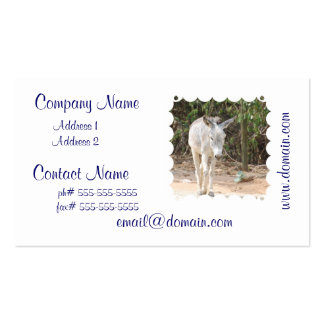 Grey Donkey Pack Of Standard Business Cards