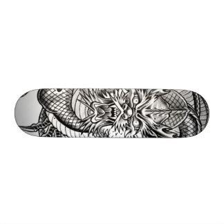 grey dragon 19.7 cm skateboard deck