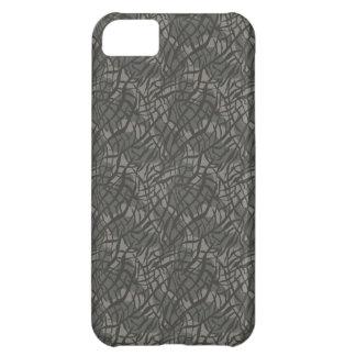 Grey Elephant Skin Pattern iPhone 5C Case