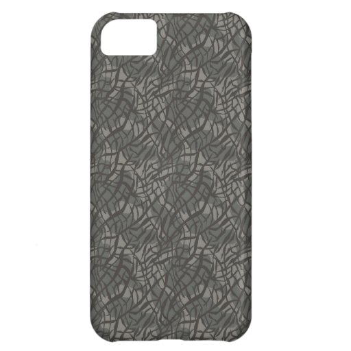 Grey Elephant Skin Pattern Case For iPhone 5C