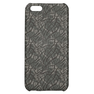 Grey Elephant Skin Pattern Cover For iPhone 5C