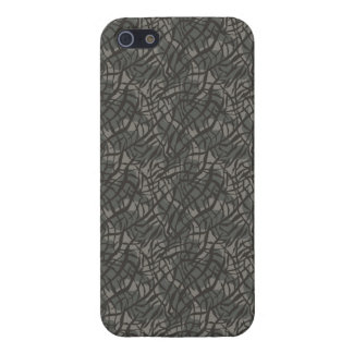 Grey Elephant Skin Pattern iPhone 5 Covers