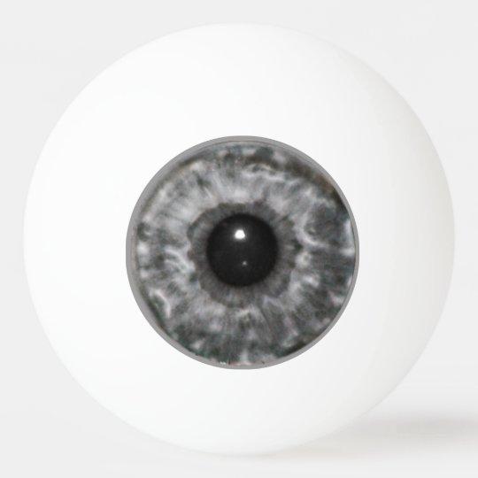Grey Eyeball Ping Pong Ball