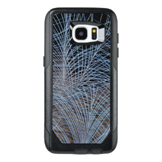 Grey Feather Abstract OtterBox Samsung Galaxy S7 Edge Case