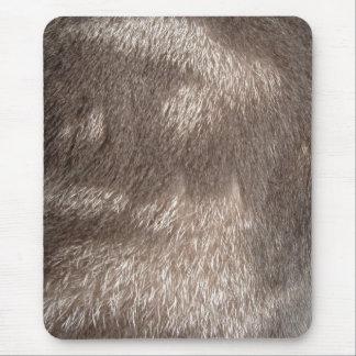 Grey Fur Mousemat