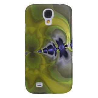 Grey Goblin in Green, Fun Spooky Imp Galaxy S4 Case