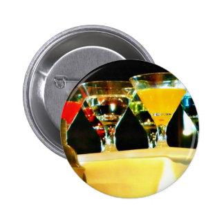 grey goose martinis 6 cm round badge
