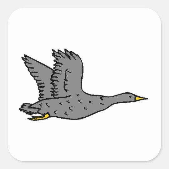 Grey Goose Square Sticker