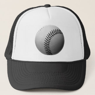 Grey / Gray baseball Trucker Hat
