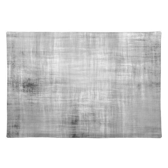 Grey Grunge Textured Place Mat