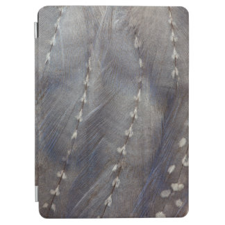 Grey Guineafowl Feather Abstract iPad Air Cover