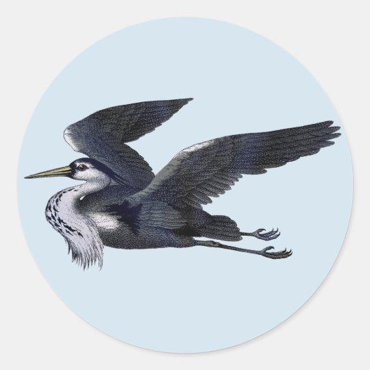 Grey Heron Stickers