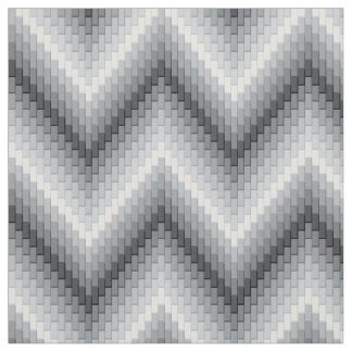 Grey Herringbone Fabric