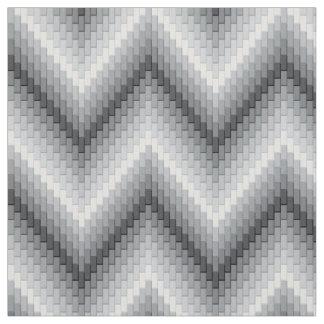 Grey Herringbone Fabric