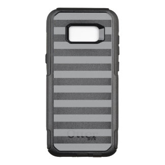 Grey Horizontal Stripes OtterBox Commuter Samsung Galaxy S8+ Case