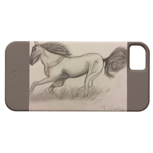 Grey Horse Case For The iPhone 5