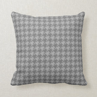Grey Houndstooth Cushion