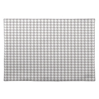 Grey Houndstooth Placemat