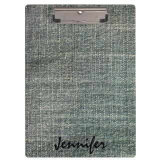 Grey Jeans | Personalized Clipboards
