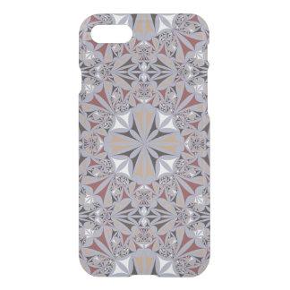Grey Kaleidoscope Pattern iPhone 7 Case