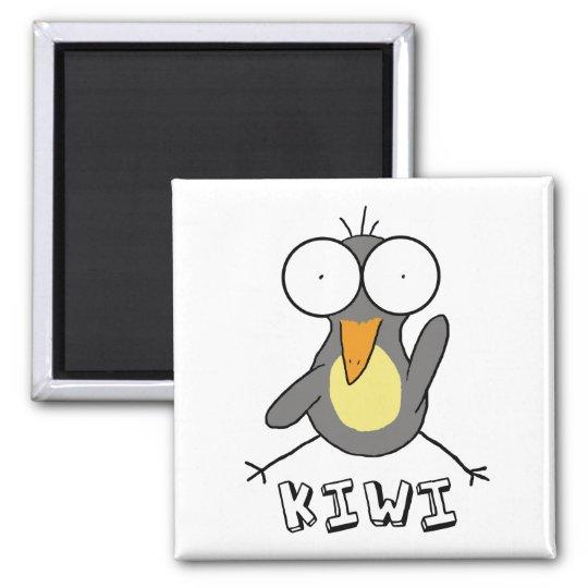 Grey Kiwi Magnet