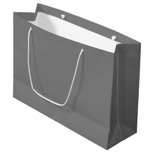 Grey Large Gift Bag