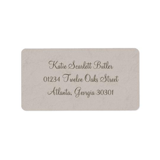 Grey Little Prince Baby Shower Address Labels