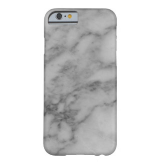 Grey Marble Barely There iPhone 6 Case