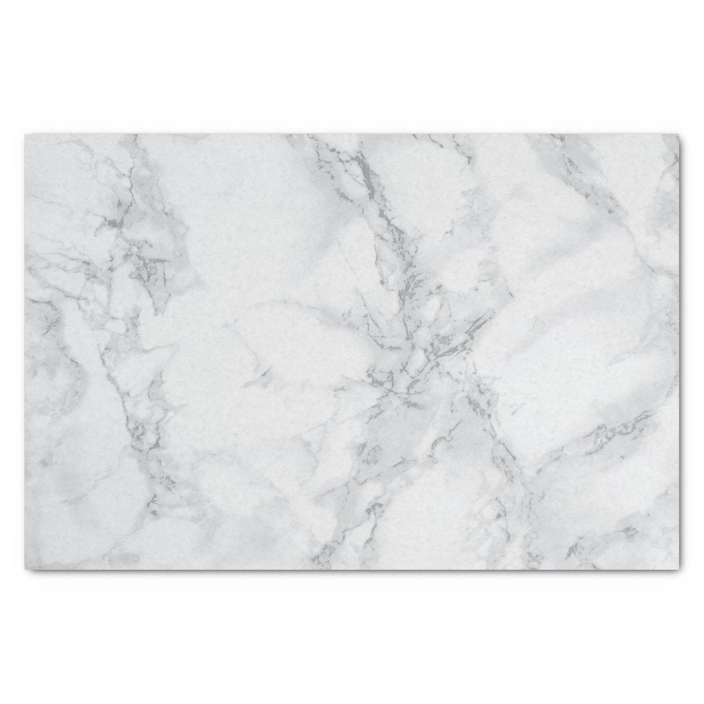 Grey Marble Design Tissue Paper