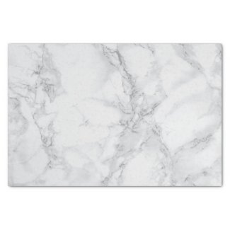Grey Marble Design Tissue Paper