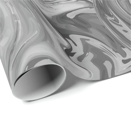Grey marbled texture. Ebru technique style. Wrapping Paper